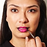 Step 2: Line the corners of your lips.