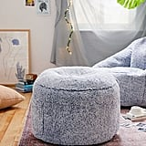Amped Fleece Ottoman