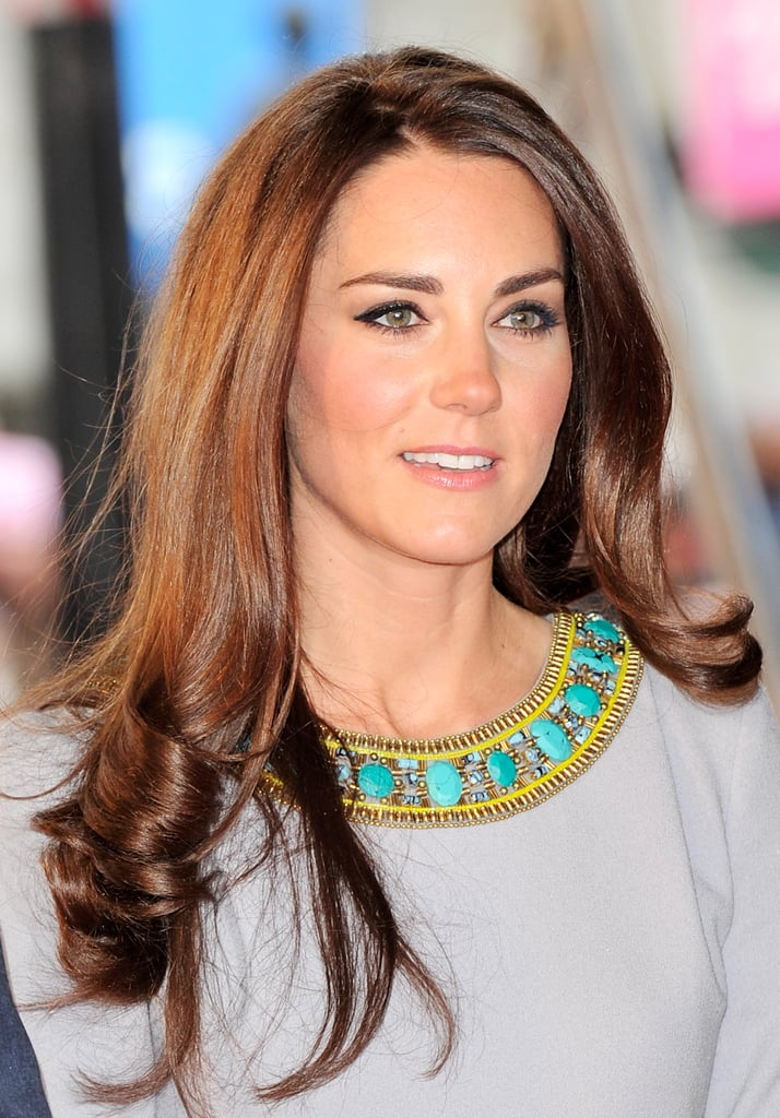 Kate Middleton Goes Boho? Sort Of. See her Matthew Williamson Frock From All Angles!