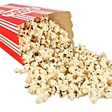 Two cups of movie popcorn = 100 calories