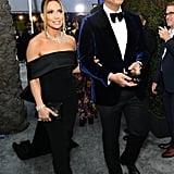Jennifer Lopez Wore a Black Dress to the SAG Awards 2020