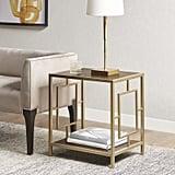 Martha Stewart Renee End Table with Storage