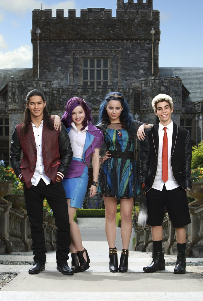 descendants 2 cast popsugar entertainment