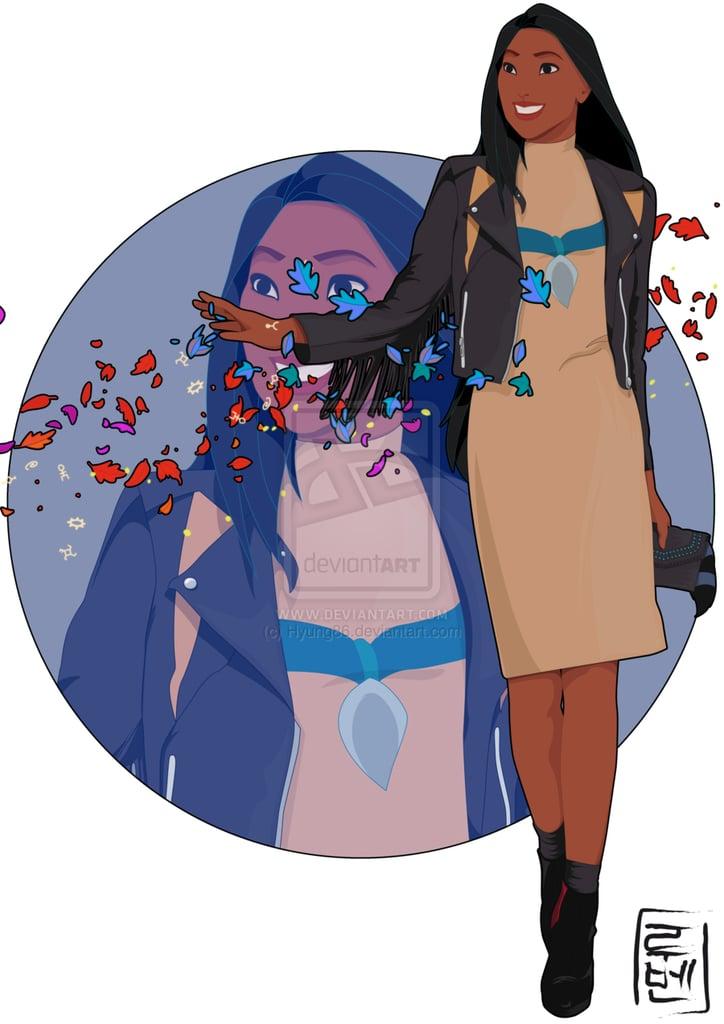College Student Pocahontas