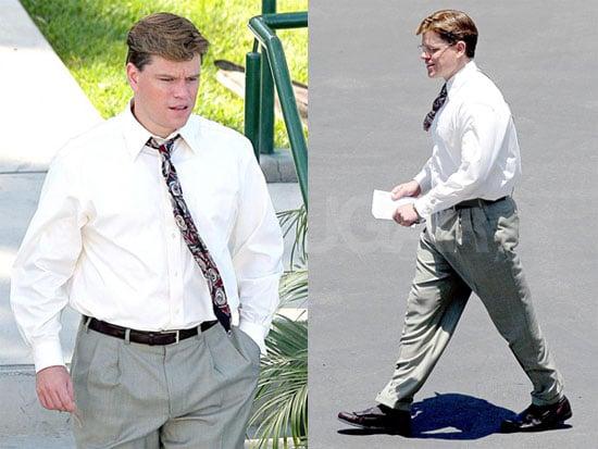 Photos of Matt Damon on the Set of The Informant 2008-06-10 10:30:00