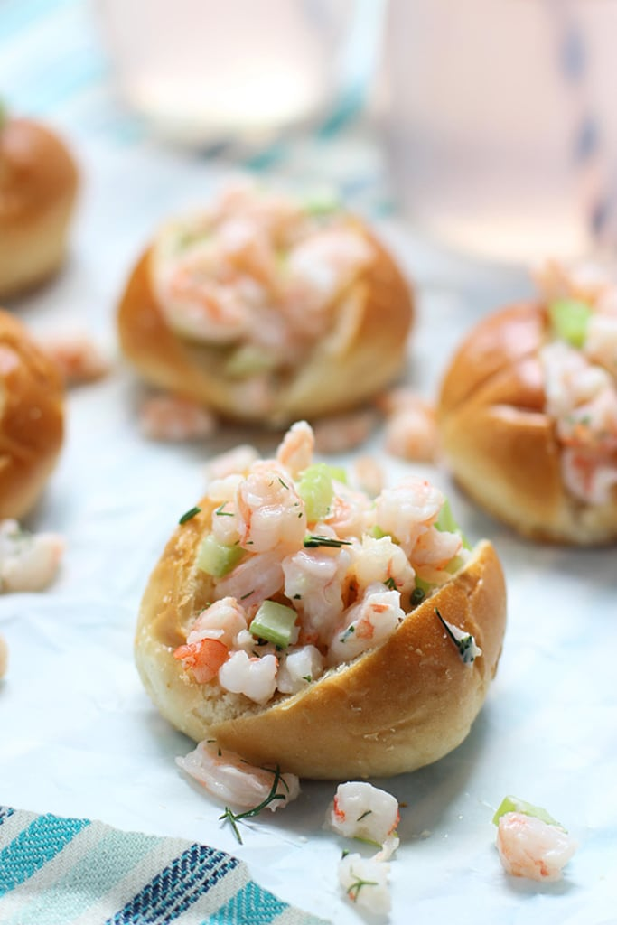 Mini Shrimp Rolls With Dill