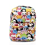 Tsum Tsum Pattern Canvas Backpack