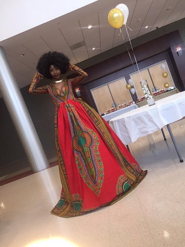 Kyemah McEntyre's Prom Dress