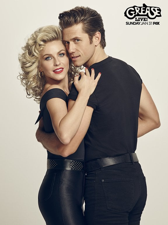 sandy and danny from grease live
