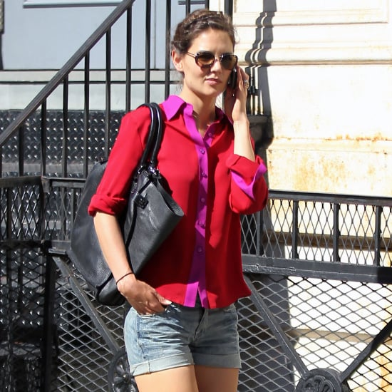 Katie Holmes's Best Denim Looks