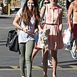 Taylor Swift and Selena Gomez met up for lunch at Paradise Cove.