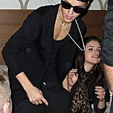 Justin Bieber hung out with Selena Gomez at the American Music Awards afterparty.