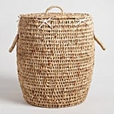 Natural Hyacinth Georgia Laundry Hamper with Lid