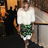 Anna Wintour attended the Carnegie Hall Medal of Excellence gala at NYC's Waldorf-Astoria.