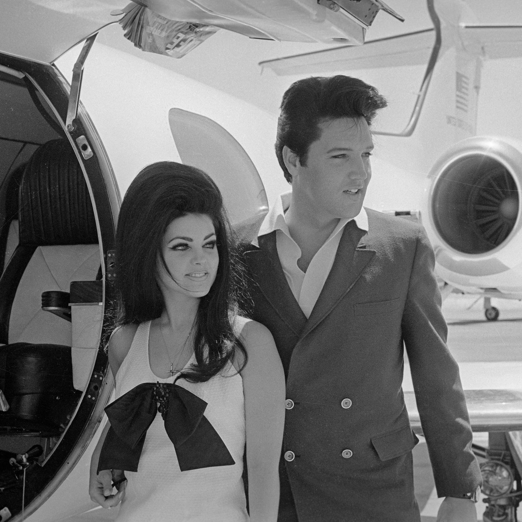 Elvis And Priscilla Presley Age Difference Popsugar Celebrity