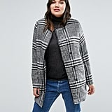 Junarose Plus Coat in Check