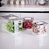 Slideep Food Storage Containers Fridge Produce Saver