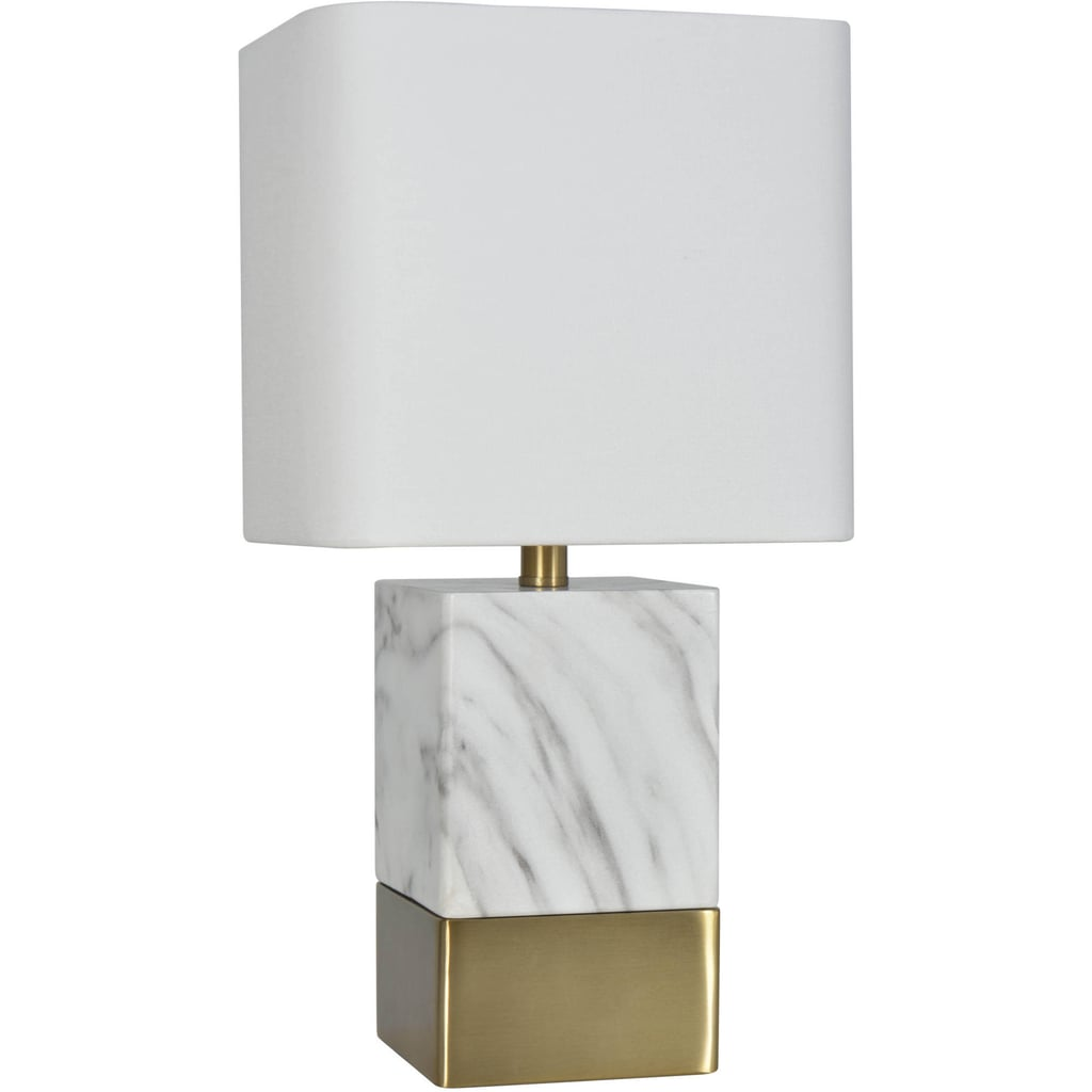 better homes and gardens lighting. Better Homes And Gardens Gray White Faux Marble Table Lamp Lighting