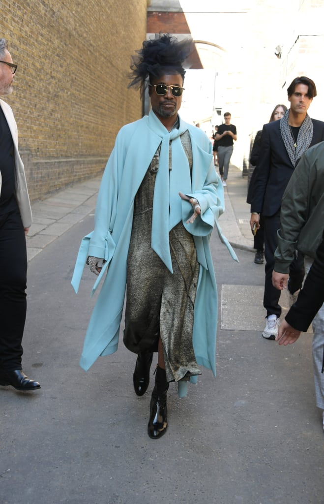 Billy Porter at the Roland Mouret London Fashion Week Show