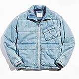 UO Denim Utility Puffer Jacket