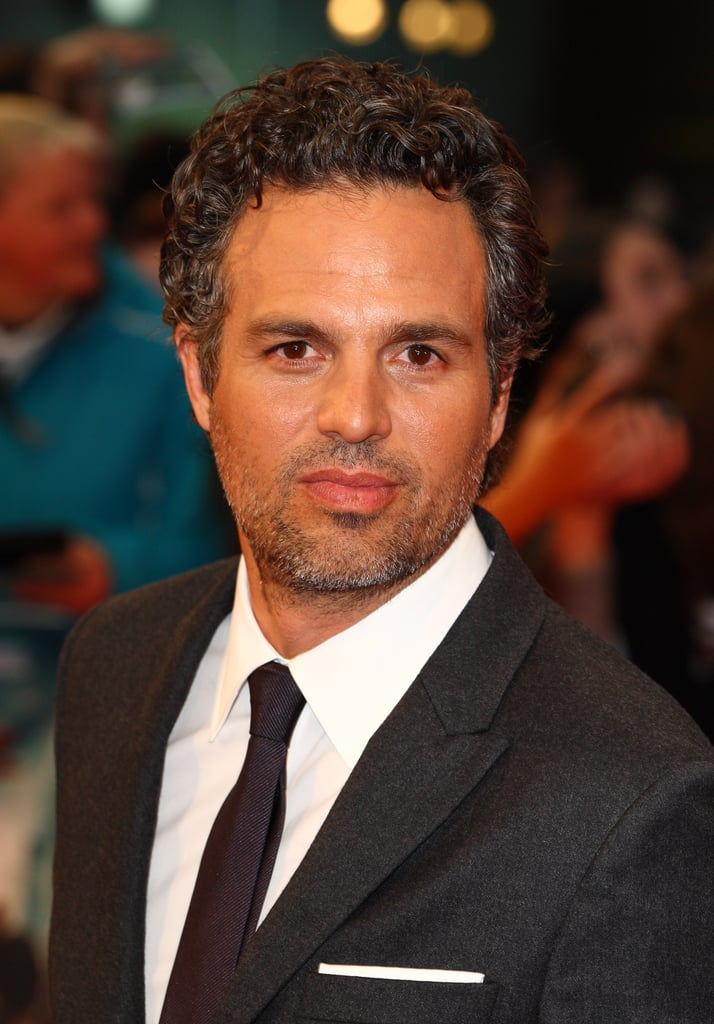 Mark Ruffalo posed at the premiere of The Avengers in London.