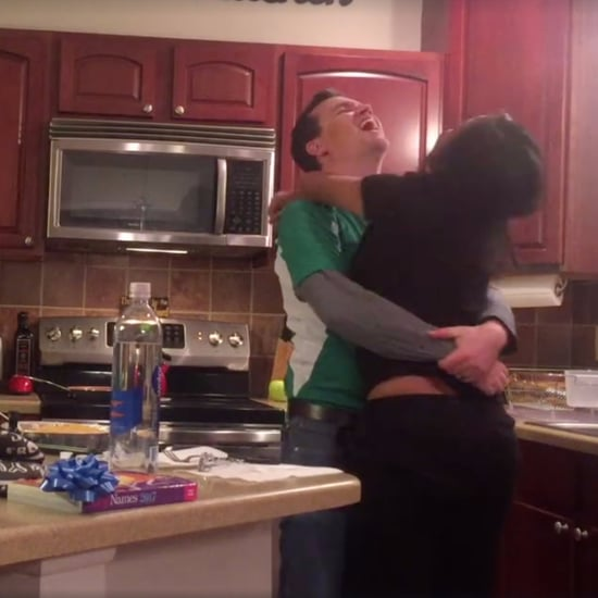 Husband Reacts to Wife's Pregnancy Announcement