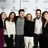 With Molly Shannon, Naomi Scott, Adam Scott, and Alethea Jones.