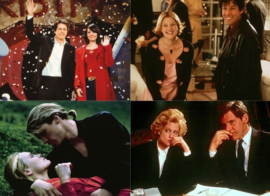 Love Actually, The Wedding Singer, The Princess Bride, and Working Girl