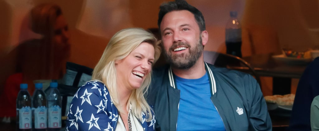 It Looks Like Ben Affleck and Lindsay Shookus Had a Ball at the US Open