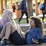 Rue and Jules From Euphoria