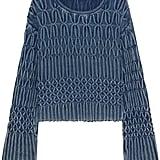 Chloé x Net-A-Porter Cable-knit Cotton Sweater ($995)