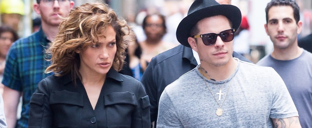 Jennifer Lopez and Casper Smart in New York City July 2016