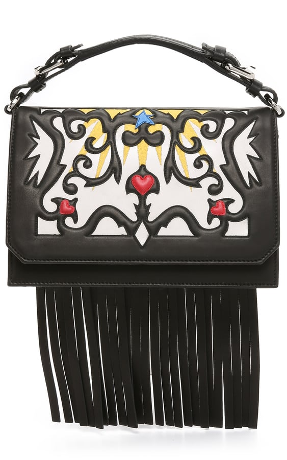 MSGM Embroidered Satchel ($726)