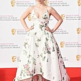 Jodie Comer at the 2016 BAFTA TV Awards