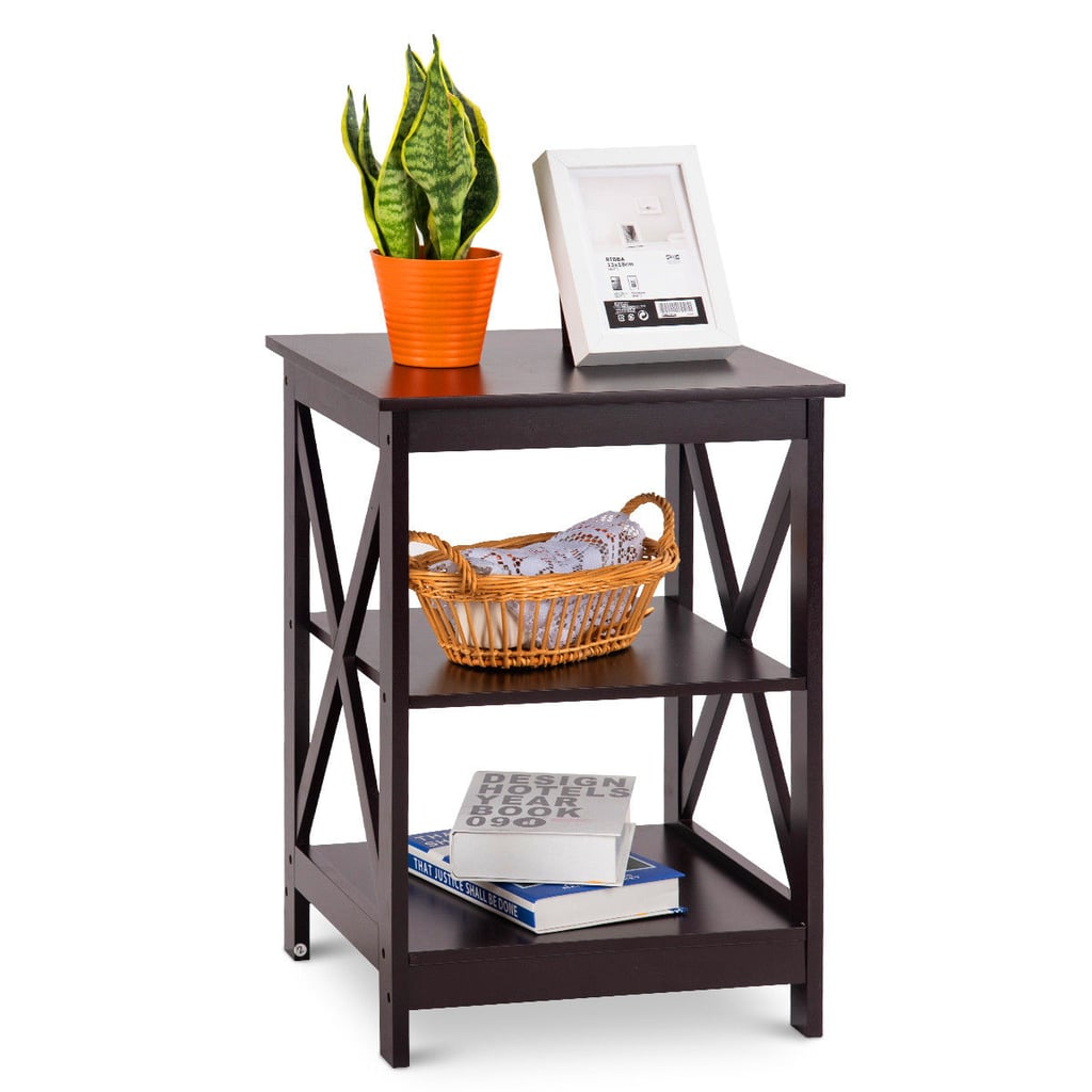 Costway Three-Tier Nightstand