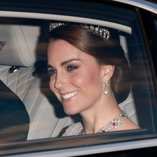 Kate Middleton in Princess Diana's Tiara