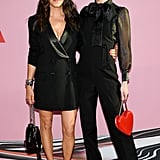 Rebecca Minkoff and Hilary Rhoda at the 2019 CFDA Awards