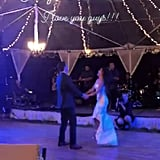 Janel Parrish and Chris Long Wedding Pictures