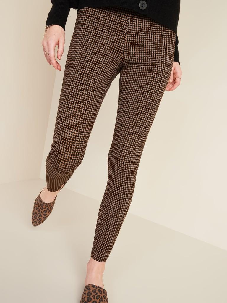 Stevie Printed Ponte-Knit Pants