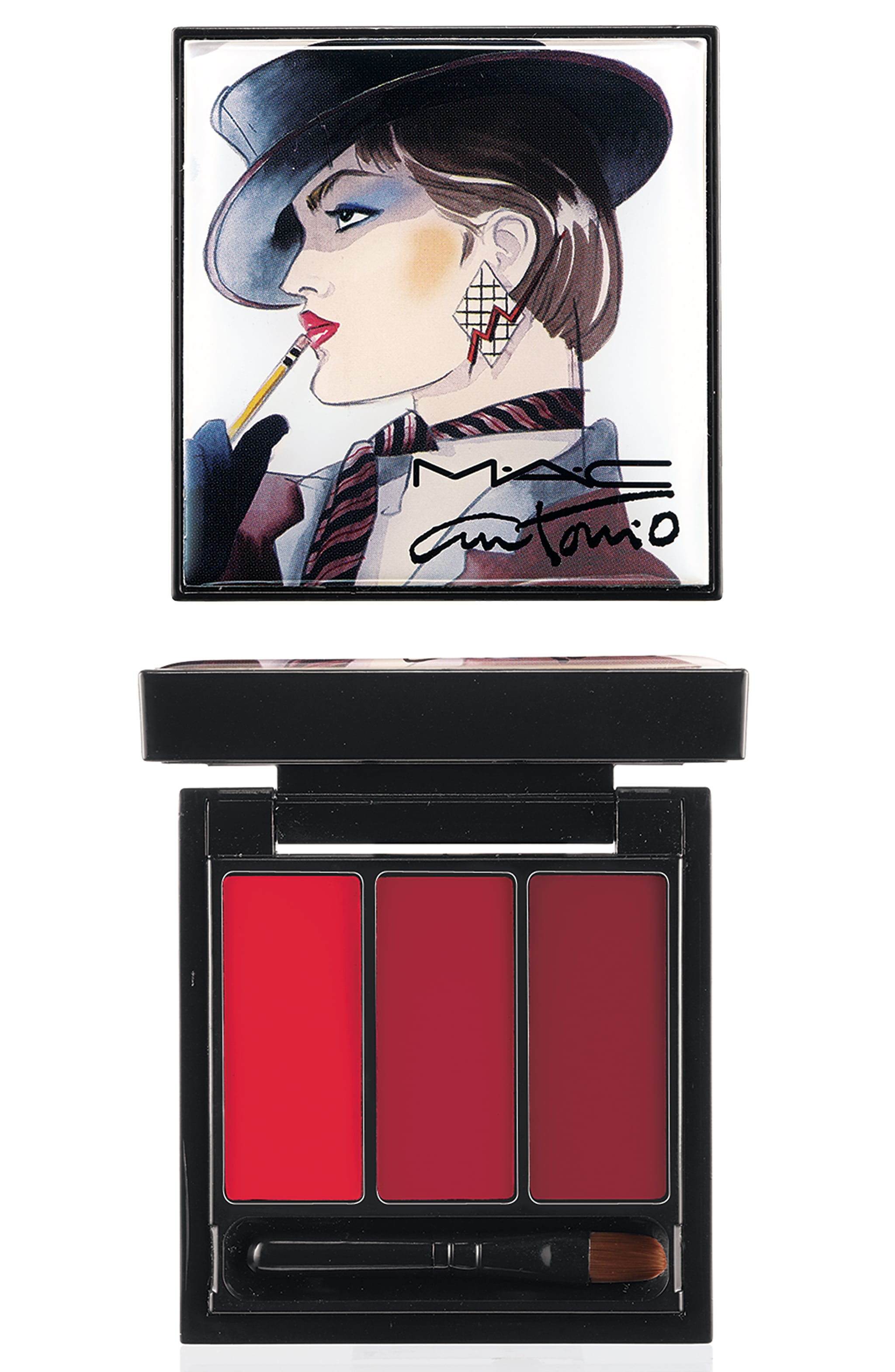 Lips x 3 Palette in Red ($28)
