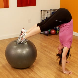 Advanced Exercise Ball Moves