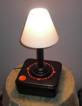 Atari Joystick Lamp Is a Functioning Lamp That Looks Like a Joystick