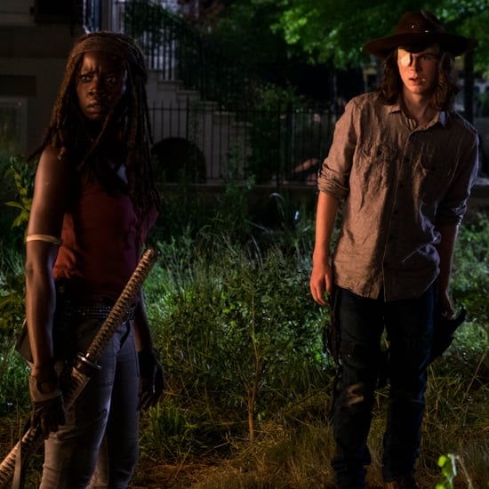 Danai Gurira Quotes About Carl's Death on The Walking Dead