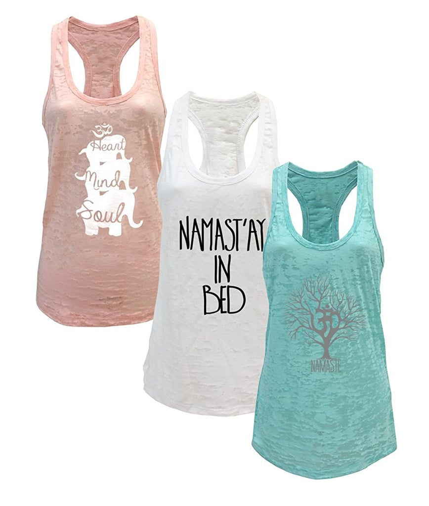 Tough Cookie Women's Yoga Tank 3-Pack