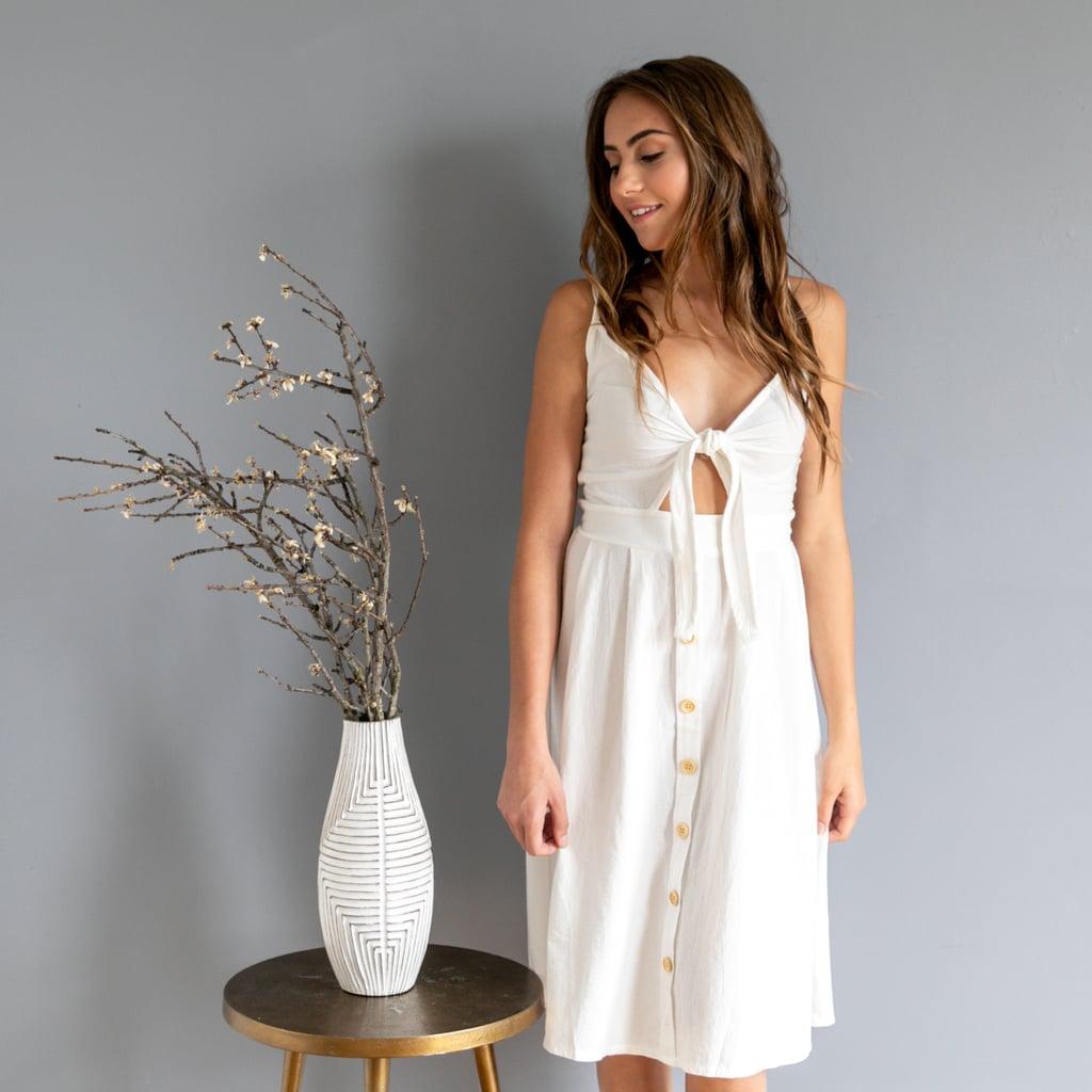 Front-Tie Dress, $15