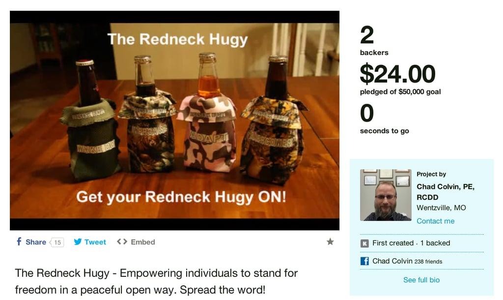 "<a href=""http:/... The Redneck Hugy</a>"