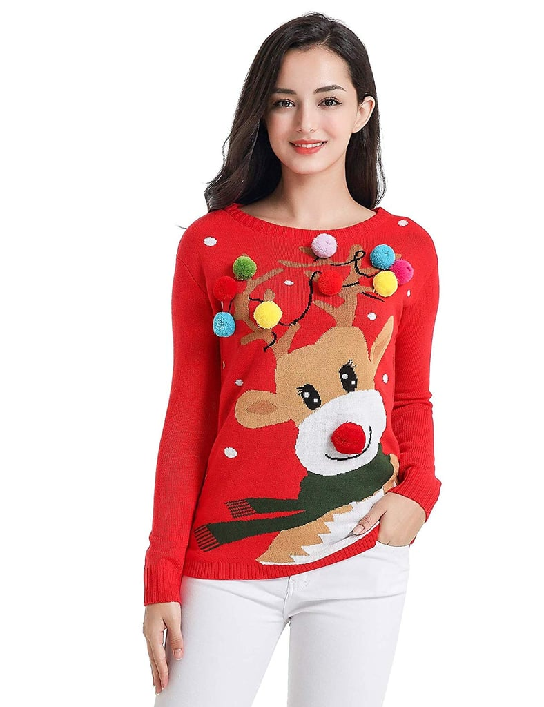 V28 Christmas Sweater Funny Ugly Christmas Sweaters For Women On