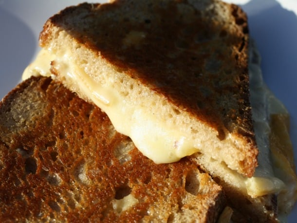Raclette Grilled Cheese Sandwich