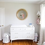 Simple and Bright Nursery For a Baby Girl