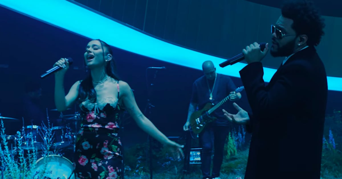 Ariana Grande Performed With The Weeknd and We Couldn't Stop Staring